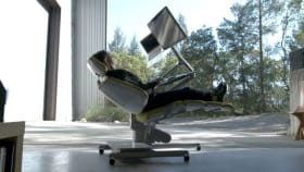 This Chair Makes It Possible To Work Like You're Still In Bed