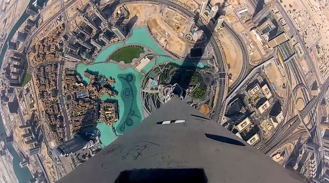 Google Street View Goes To The Top Of World S Tallest