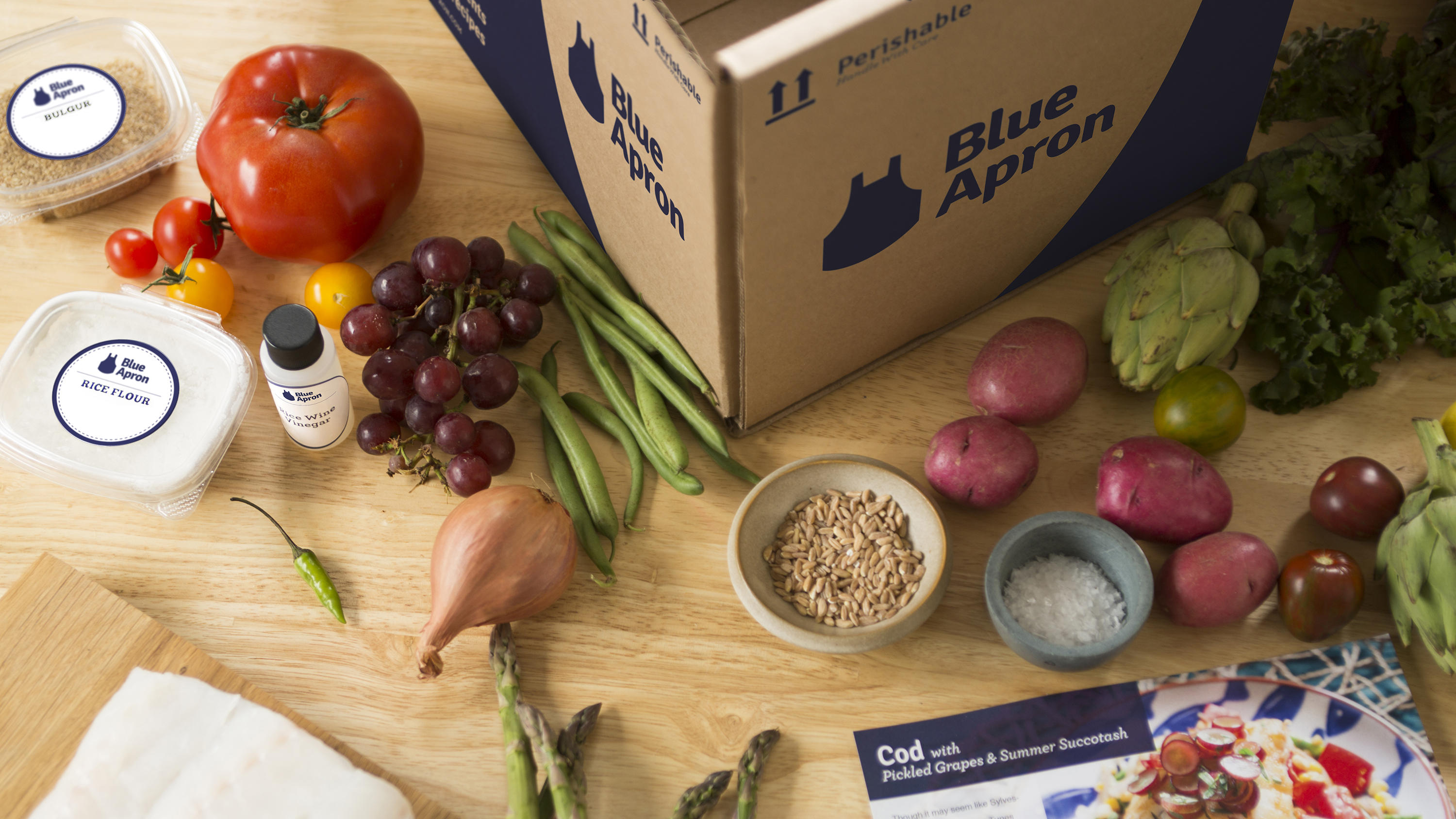 Blue apron hq - Skip The Store Grocery Delivery Service Blue Apron Expands To The West
