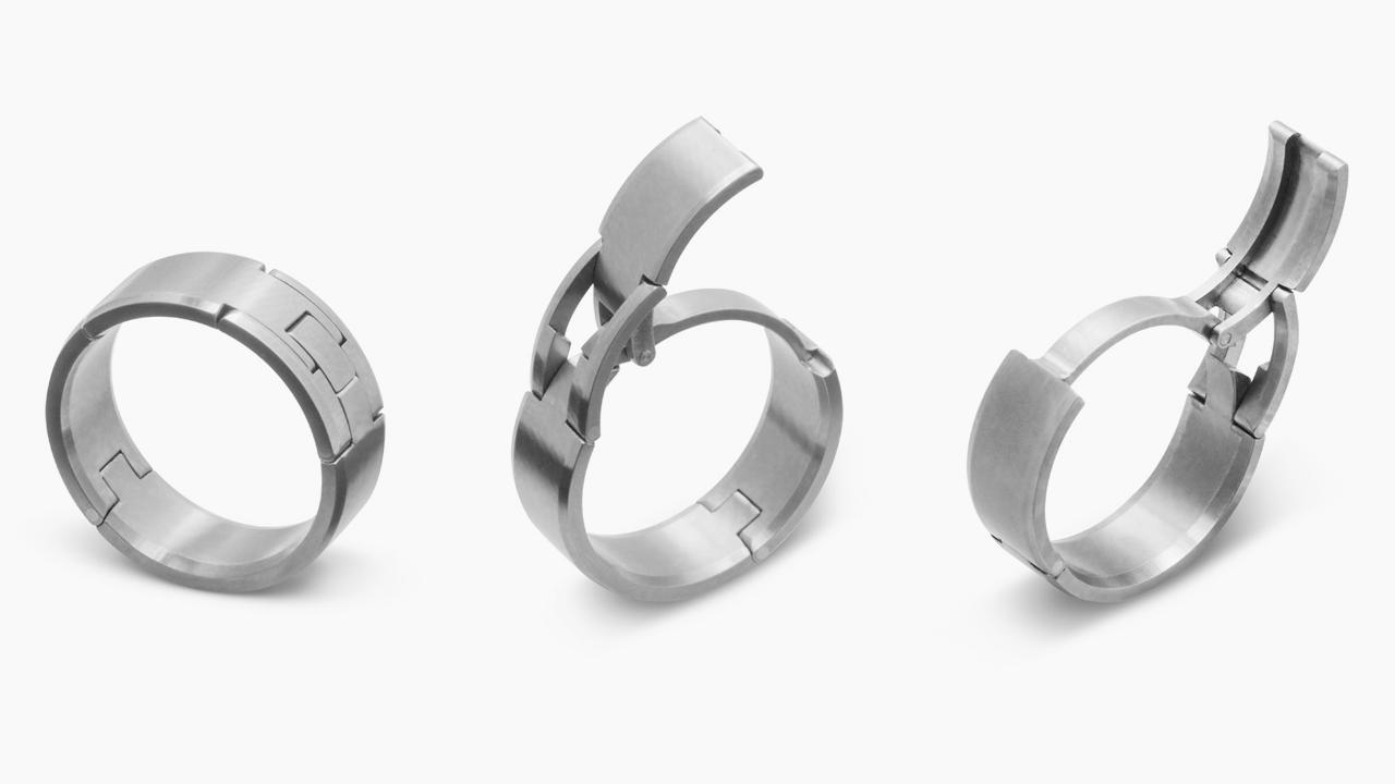 wedding rings for mechanics mechanic wedding ring Wedding rings for mechanics Mechanic Wedding Ring Idea Kim Kardashian