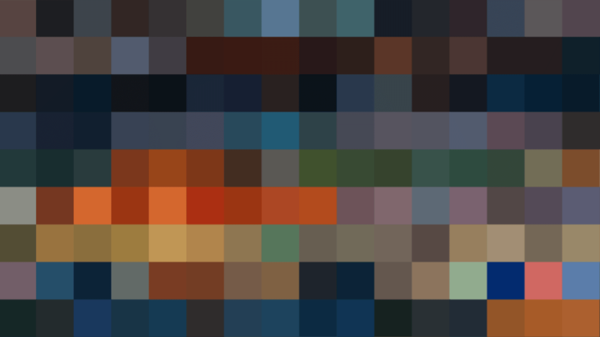 every frame of 5 famous films distilled down to their color palettes codesign