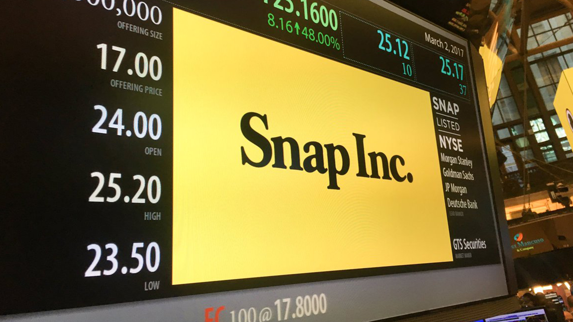 Three Things You Might not Know About Snap's Big IPO