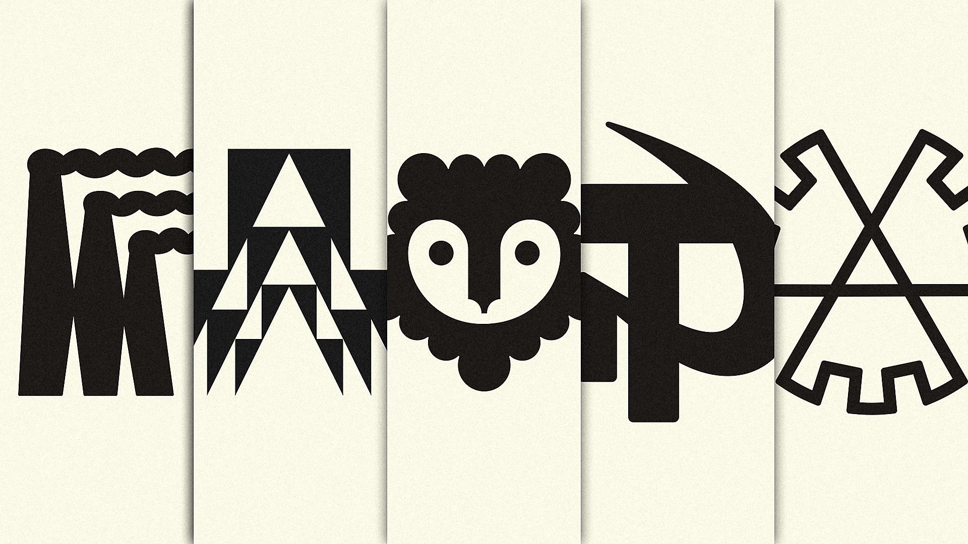 Recopilación de logos. Fuente: Fast Co. Design