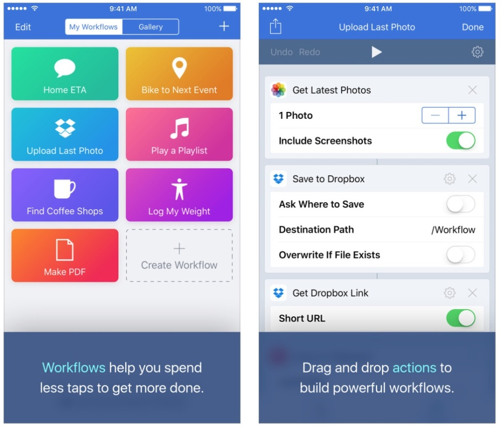 Apple Acquires iPhone and iPad Automation App Workflow